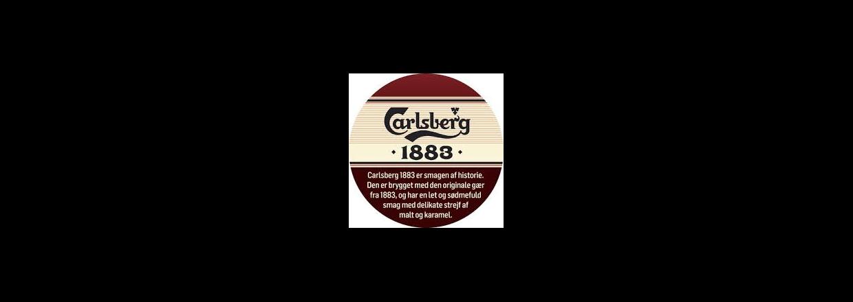 Carlsberg 1883 - nu på fad